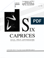 Dubois - Six Caprices