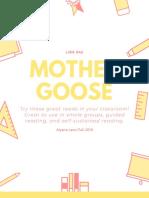 mother goose flyer lara