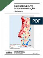 Relatório de Regionalização