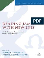 Reading James with New Eyes (R.L. Webb & J.S. Kloppenborg)