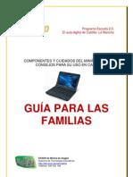 El miniportátil Toshiba de Escuela 2.0. Guía para las familias