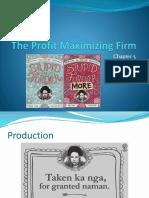 05 the Profit Maximizing Firm