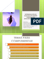 DETERMINACIÓN DE GLUCOSA EN SANGRE HUMANA POR ESPECTROFOTOMETRÍA.pptx