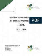 Schéma départemental de gestion cynégétique - Jura 2019