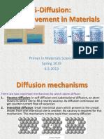 5 - Atom Movement in Materials 3