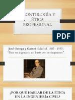 Deontología y Ética Profesional