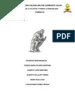 Plan de área de filosofía