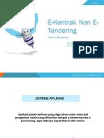 12. Slide Panduan E-Kontrak Non E-Tendering User Pejabat Pengadaan (Ref.18.05.2015).pptx