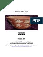 A Nazca Bird Bowl