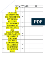 Daftar Nama Peserta