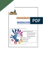 Migracion Demografia Word