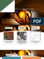 Tema 1 - Conceptos Minero-metalurgicos