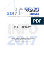 2017 Executive Coaching Survey FINAL