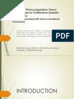 Panretinal Photocoagulation Versus -Dr. Ifan (31 Juli 2018)