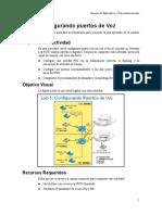 Exp1 - Lab 1 - Configurando Puertos de Voz