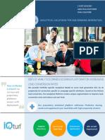 Analytics for B2B Marketing - IQturf Consulting