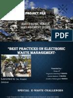 environmental project