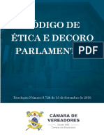 Código de Ética Câmara de Campos