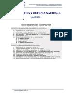 Geopolitica y defensa Nacional
