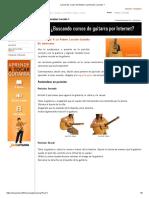 LaCuerda_ Curso de Guitarra Jamorama_ Lección 1