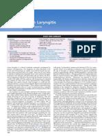 Laryngitis Acute