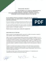 PSRM a semnat un nou Acord privind majoritatea parlamentară cu blocul ACUM