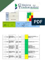 Iperc Topico Medico en Osinergmin 2014