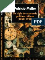 Pobreza Siglo XX por Meller