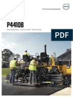 p4410b Volvo Tracked Pavers