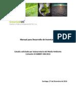 Manual Desarrollo de Inventarios Green Lab