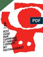 Petit guide pour comprendre et combattre l'impunité des multinationales