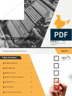 Auto Components May 2019