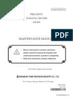 MAINTENANCE MANUAL/AS-200