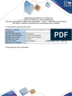 Guia de actividades y rubrica de evaluación - Fase 2 - Identificar los Actores del Curso y definir la planificación estratégica de la calidad.docx