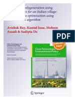 Distributed Polygeneration Using Local Resources for an Indian Village_ Multiobjective Optimization Using Metaheuristic Algorithm