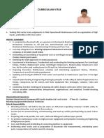 Mech Tech CV