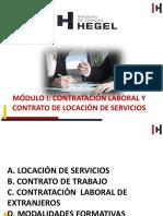 Ppt Contrato Laboral y Locacion de Servicios 02.09.2019