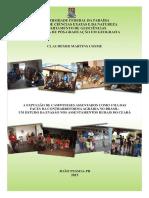 Dissertação sobre a questão agrária no Brasil
