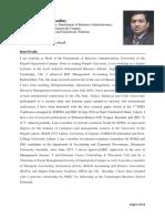 Doctor Naveed Iqbal C.V
