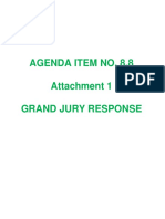 Response to Grand Jury Report