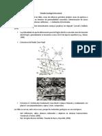 Estudio Geología Estructural