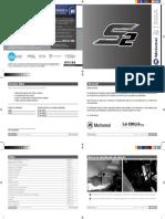 Manual de usuario Motomel serie 2