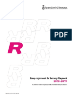 Rotman Full Time Employment and Salary Report Web