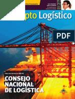 Concepto Logistico Numero 000 Vista en Dobles Paginas