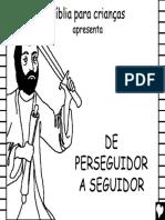 A Historia Do Apóstolo Paulo - Para Imprimir