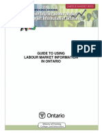 Guide to Using Labour Market Information in Ontario