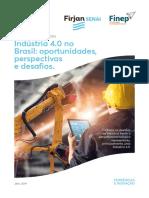 A industria 4.0 no Brasil