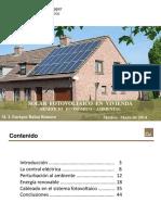 Instalación Fotovoltaica en vivienda