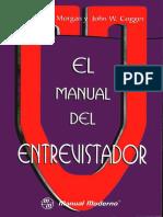 215776545 Manual Del Entrevistador