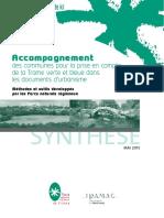 Accompagnement Des Communes Pour La Prise en Compte de La Trame Verte Et Bleu Dans Les Documents d'Urbanisme